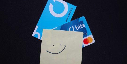 Wir freuen uns über die BITS-Card
